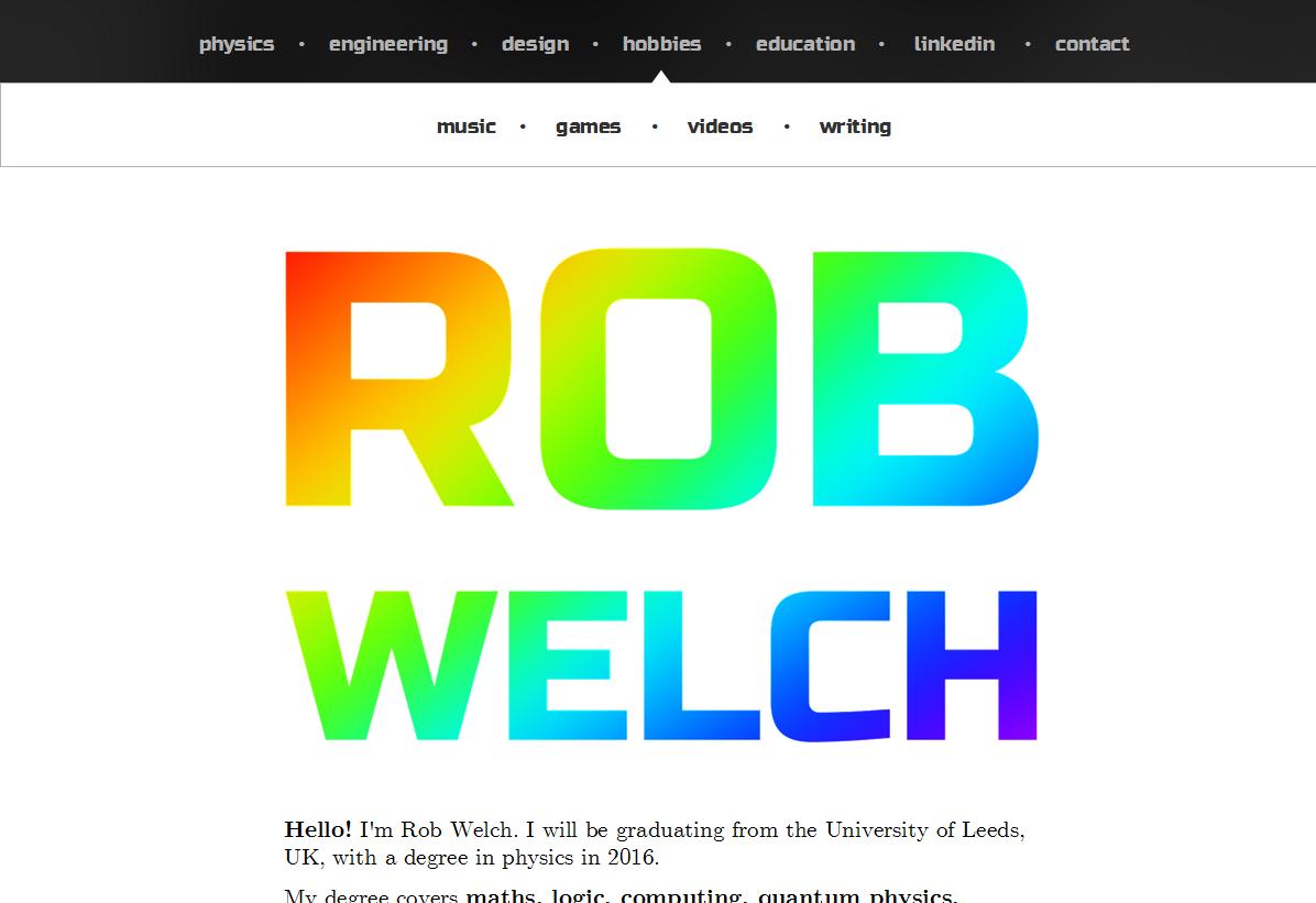 robwelchwebsite